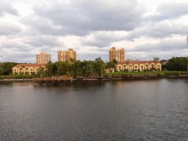 Highland Beach Club from Intracoastal